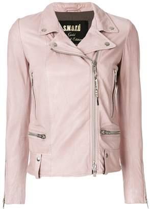 S.W.O.R.D 6.6.44 off-center zipped jacket