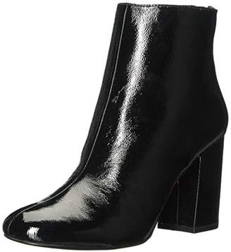 Kenneth Cole New York Women's Caylee Dress Bootie with Block Heel Patent Ankle