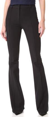 Veronica Beard Hibiscus Flare Pants
