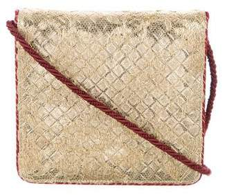 Bottega Veneta Metallic Flap Bag