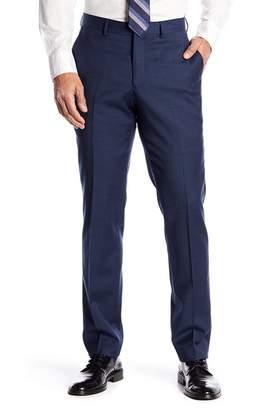 Nordstrom Mens Shop Tech-Smart Trim Fit Flat Front Trousers