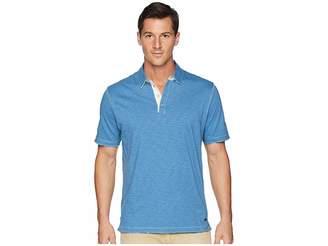 True Grit Vintage Soft Slub Jersey Polo Men's Short Sleeve Pullover