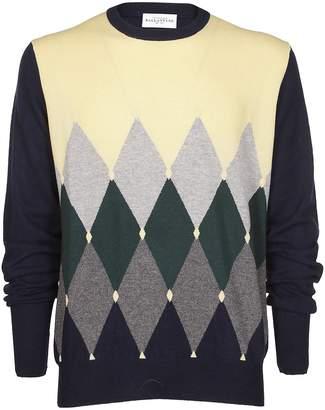 Ballantyne Colour Contrast Sweater