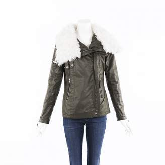 Green Cotton Non Signé / Unsigned Non Signe / Unsigned Leather jackets