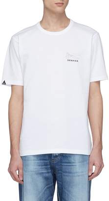 Denham Jeans 'DNA' graphic logo print T-shirt