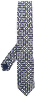 Corneliani embroidered woven tie