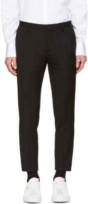 DSQUARED2 Black Skinny Dan Zip Trousers