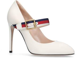 Gucci Sylvie Mary Jane Pumps 105