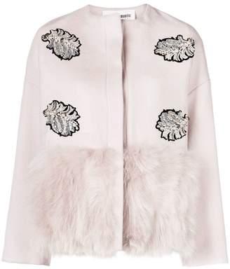 Caban Romantic embellished short jacket