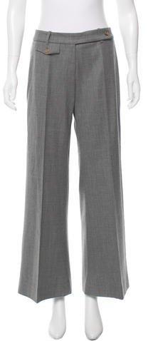 Michael Kors Virgin Wool Wide-Leg Pants w/ Tags
