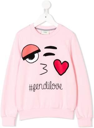 Fendi FendiLove sweatshirt