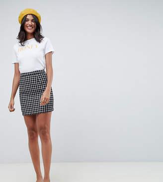 Glamorous Tall mini skirt in tweed