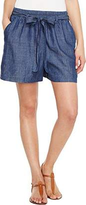 Lucky Brand Women's Tie Front Chambray Short