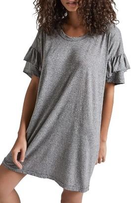 Women's Current/elliott Ruffle Roadie T-Shirt Dress $138 thestylecure.com