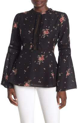 Show Me Your Mumu Lafayette Floral Bell Sleeve Blouse