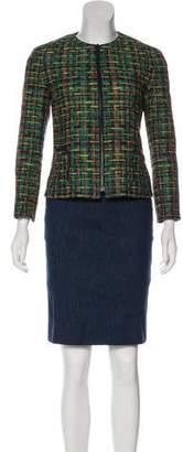 Akris Punto Knee-Length Pencil Skirt Suit