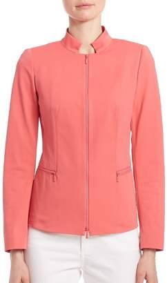 Lafayette 148 New York Women's Fundamental Bi Stretch Mimi Jacket