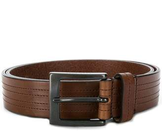 HUGO BOSS stitched detail belt
