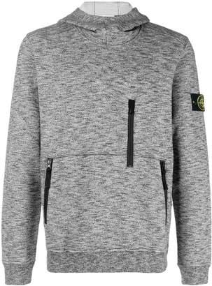 Stone Island multi-zip hoodie