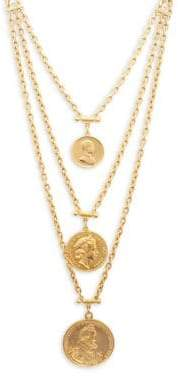 Ben-Amun Layered Gold Coins Necklace