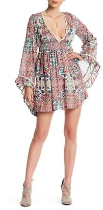 Raga Sunset Rose Bell Dress