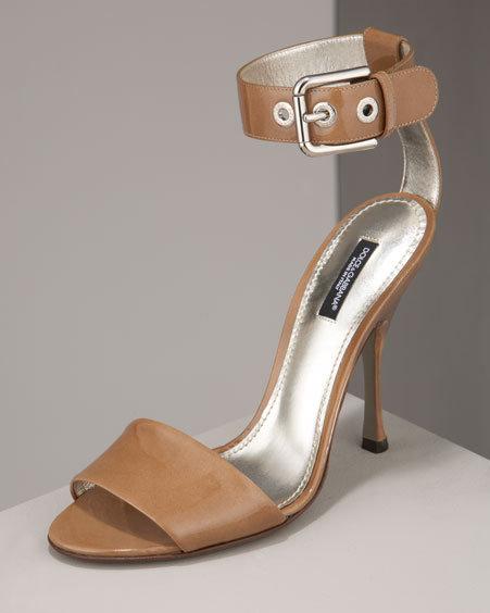 Dolce & Gabbana Patent Sandal