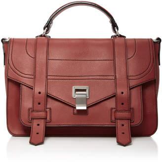 Proenza Schouler PS1 Medium Leather Satchel $1,780 thestylecure.com