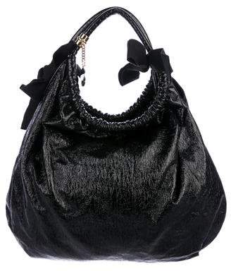 Stella McCartney Textured Vegan Hobo