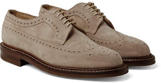 Cheaney (チーニー) - Cheaney - Woodchurch Suede Longwing Brogues