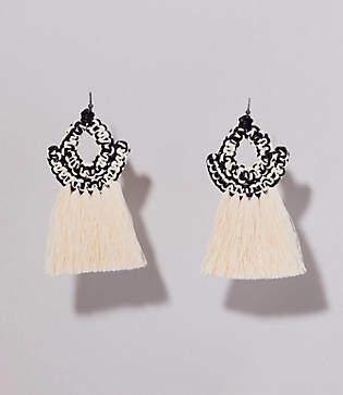 Lou & Grey Caralarga Faisan Earrings