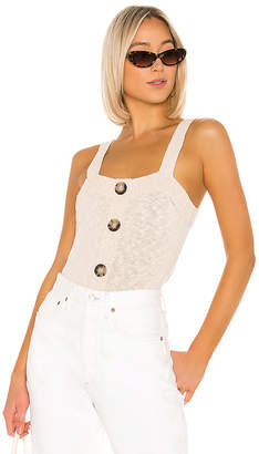 525 America Square Neck Tank With Buttons