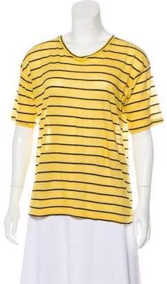 Etoile Isabel Marant Linen Weave T-Shirt