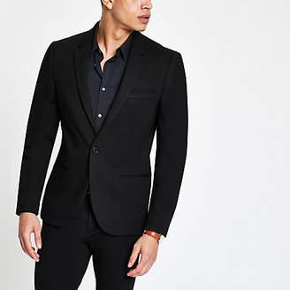 River Island Black super skinny fit suit jacket