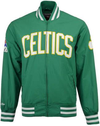 Mitchell & Ness Men's Boston Celtics Team History Warm Up Jacket