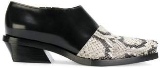 Proenza Schouler two-tone slip on shoes