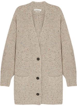 Étoile Isabel Marant - Hamilton Oversized Knitted Cardigan - Beige $530 thestylecure.com