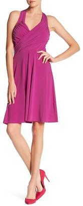Leota Vanessa Halter Neck Swing Dress $118 thestylecure.com