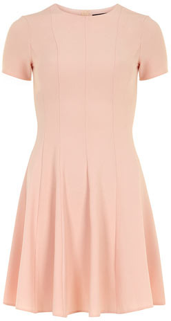 Dorothy Perkins Peach crepe dress