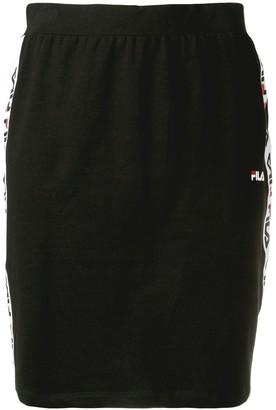 Fila logo trim skirt