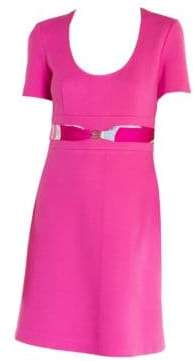 Emilio Pucci Belted A-Line Dress