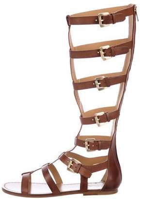 Belle by Sigerson Morrison Leather Gladiator Sandals