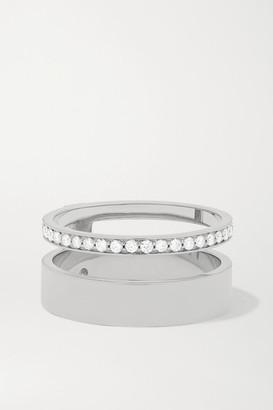 Repossi Berbère Module 18-karat White Gold Diamond Ring