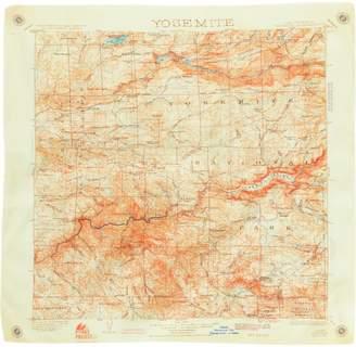 Parks Project Yosemite Map Bandana