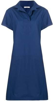 Odeeh shortsleeved flared dress
