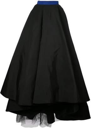 Christian Siriano full flared skirt