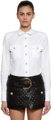 Balmain Cotton Poplin Shirt