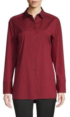 Lafayette 148 New York Dannell Long-Sleeve Shirt