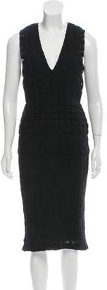 Burberry Sleeveless Crocheted Dress