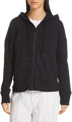 James Perse Side Zip Hoodie