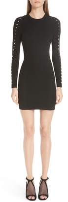 Alexander Wang Snap Sleeve Body-Con Dress